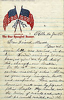 Image - a letter of the 117th New York State Infantry Regiment