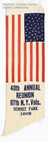 Image - a reunion ribbon of the 117th New York State Infantry Regiment